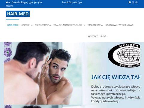Hair-med.pl przeszczep włosów