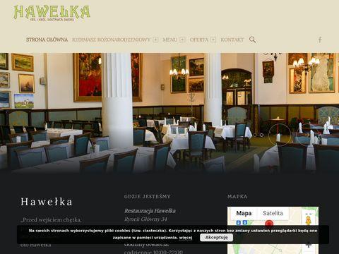 Hawełka - znakomita restauracja krakowska