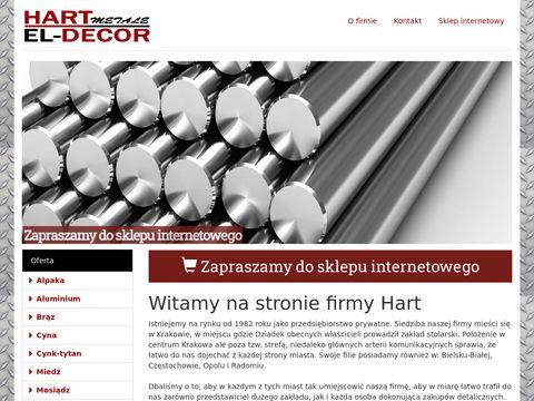 Hart - elementy stalowe