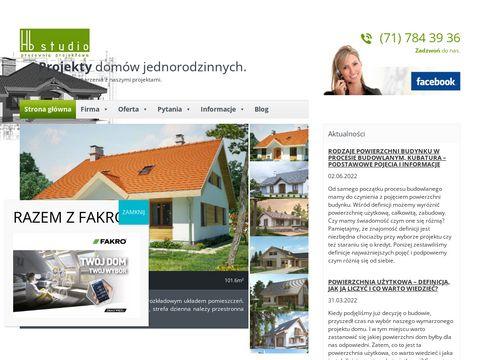 Hb Studio - projekty domów