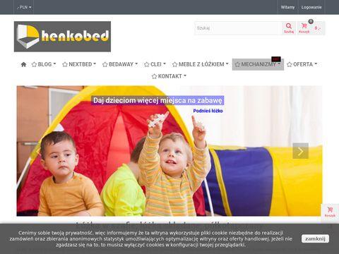Henkobed.pl - łóżka w szafie i w suficie