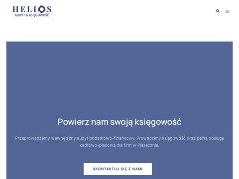 Heliosaudyt.pl księgowość Piaseczno w internecie