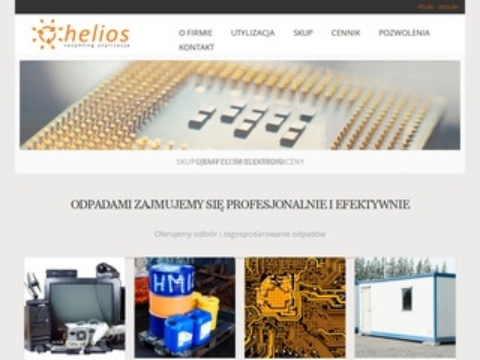 Helios utylizacja termometrów rtęciowych