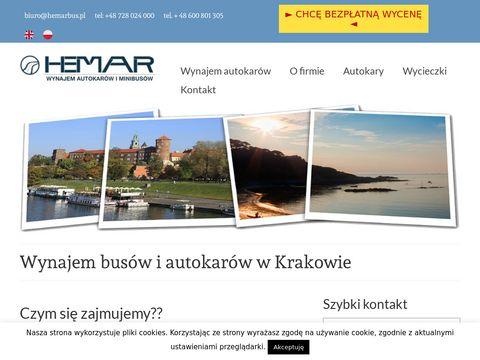 Hemarbus.pl - przewóz osób Kraków