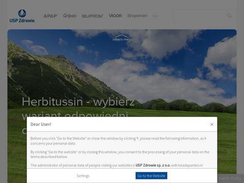 Herbitussin.pl - na gardło i kaszel