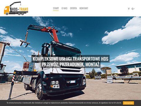 Hds-trans.pl transport Kontenerów Szczecin