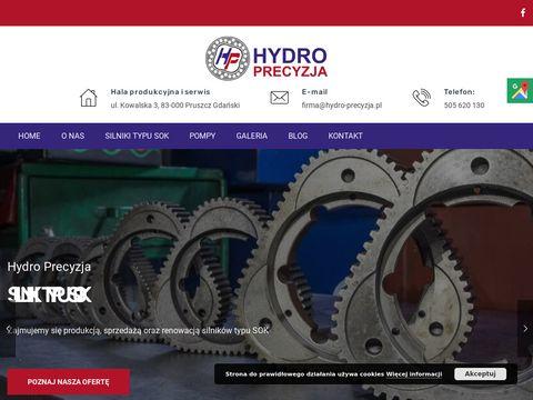 Hydro-precyzja.pl silniki hydrauliczne