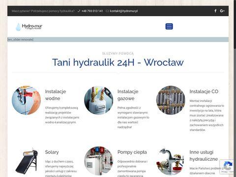 Hydromur.pl hydraulik Wrocław