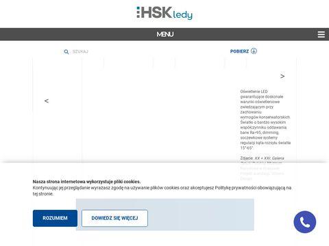 HSK Ledy - producent oświetlenia ledowego