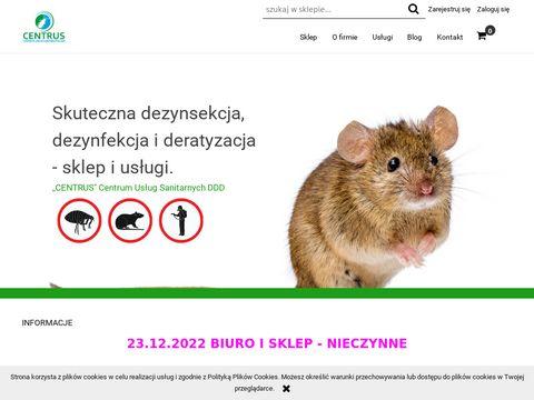 Centrus B. Hruzewicz zwalczanie gryzoni Lublin