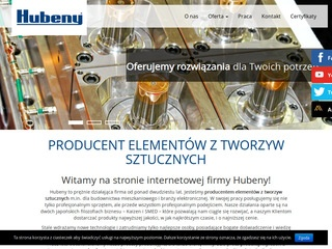 Hubeny.com.pl wypraski z tworzyw sztucznych