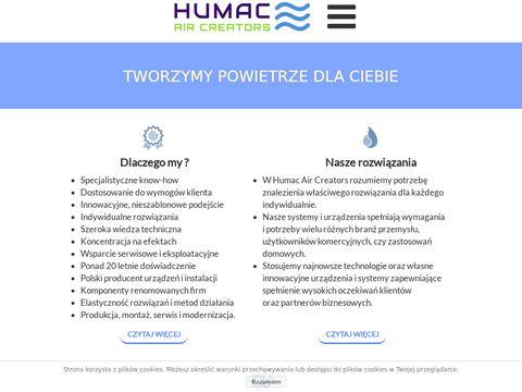 Humac.pl filtrowanie powietrza