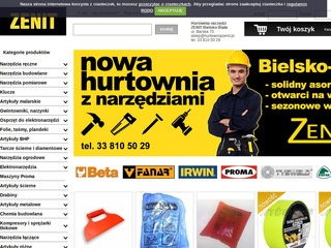 Zenit sklep i hurtownia narzędzi Bielsko