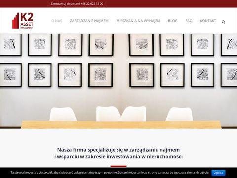 K2 Asset Management administrowanie nieruchomości