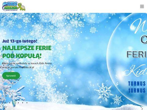 Kidsarena.pl rodzinny park rozrywki Szczecin