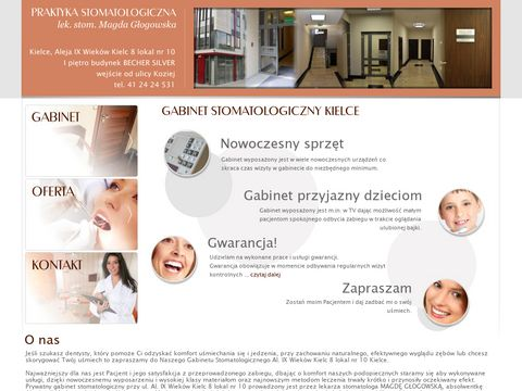 Kielce-stomatolog.pl gabinet stomatologiczny