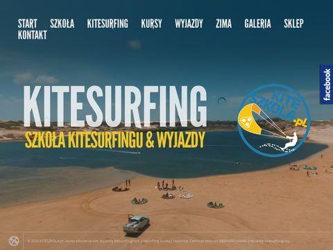 KiteSzkoła.pl - wyjazdy kite