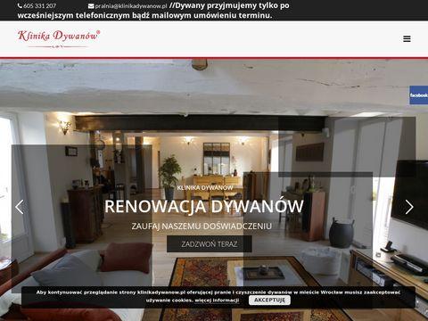 Klinikadywanow.pl - pranie wykładzin