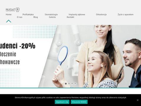 Klinikanugat9.pl aparat Invisalign Ursynów