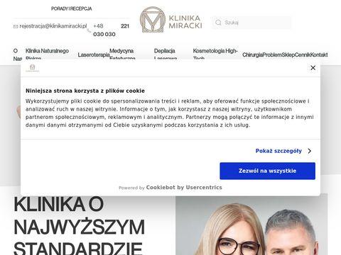 Klinikamiracki.pl - medycyna estetyczna Warszawa