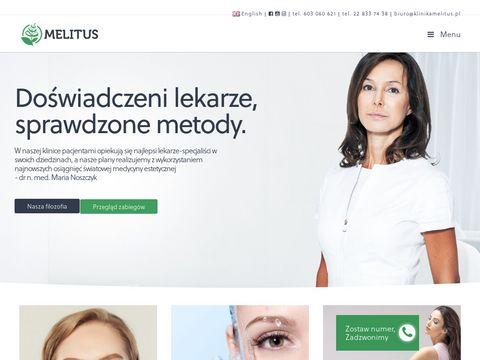 Klinikamelitus.pl - usuwanie żylaków Warszawa