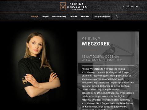 Klinikawieczorek.pl stomatologia dziecięca