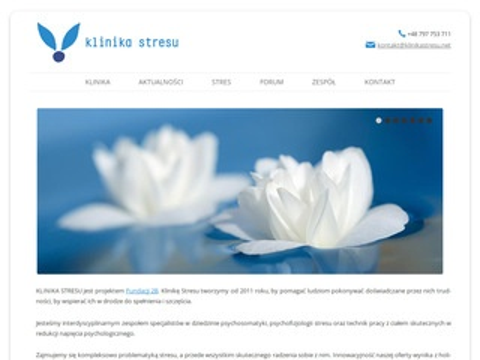 Klinikastresu.net psychoterapia Warszawa centrum
