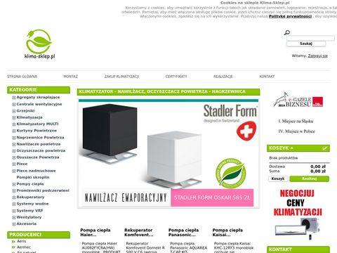 Klima-sklep.pl wentylatory