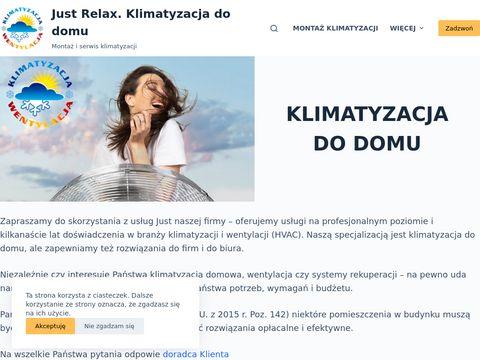 Just Relax sp. z o.o. klimatyzacja i wentylacja