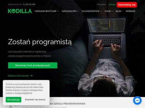 Kodilla.com - szkoła programowania