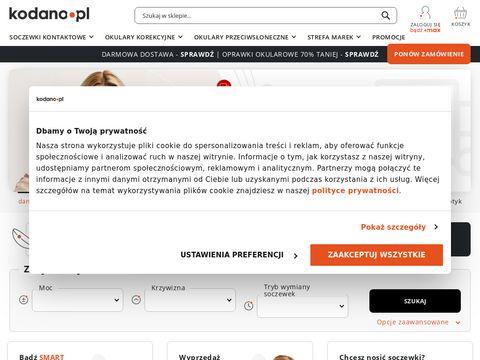 Kodano.pl - tanie markowe okulary