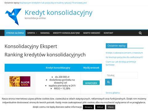 Konsolidacyjnyekspert.pl kredyt