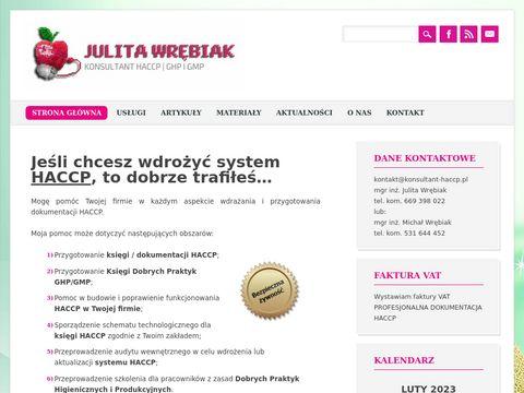 Konsultant-haccp.pl dokumentacja HACCP