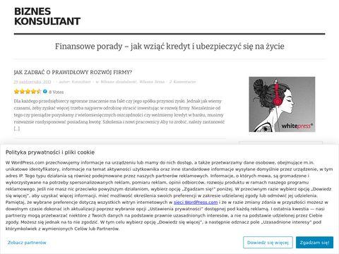 Blog finansowo biznesowy