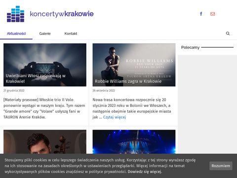 Koncertywkrakowie.pl 2018