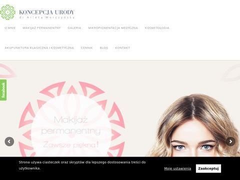 Makijaż permanentny - koncepcjaurody.pl
