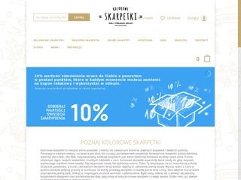 Koloroweskarpetki.pl sklep ze skarpetkami