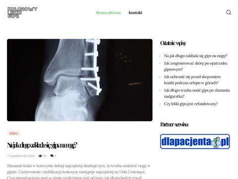 Kolorowylekkigips.pl 3M Scotchcast Plus