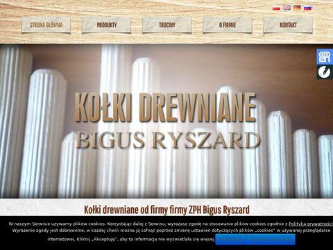 Bigus Ryszard kolkidrewniane.pl