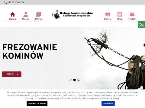 Kominiarztyburski.pl frezowanie