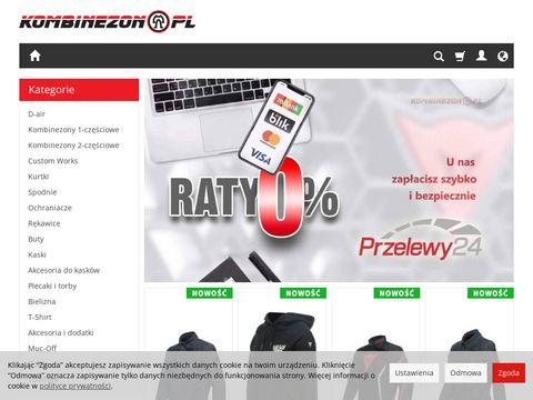 Kombinezon.pl ochraniacze motocyklowe