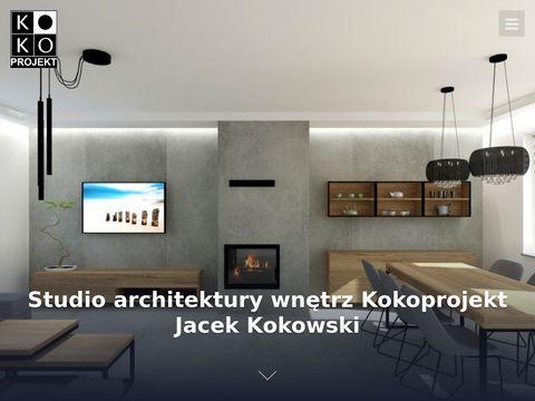 Kokoprojekt.pl projektowanie wnętrz