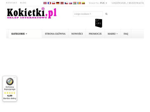 Kokietki.pl sklep z butami i bielizną damską