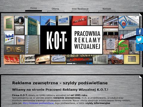 K.O.T. tabliczki informacyjne wrocław