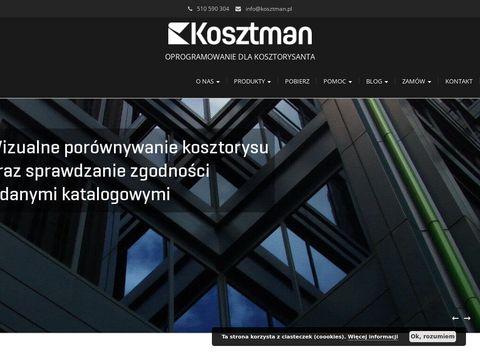 Kosztman.pl - program do kosztorysowania