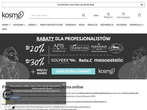 Kosmepro.pl hurtownia kosmetyków profesjonalnych