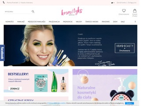 Kosmetyki sklep internetowy, lakiery do paznokci
