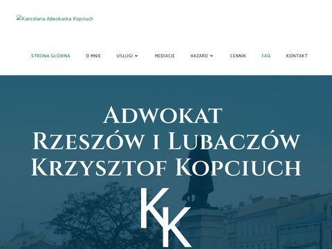 Kopciuch.com.pl adwokat Rzeszów