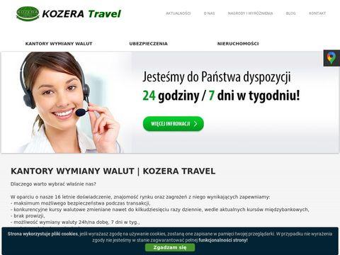 Kozera-travel.pl - wymiana walut
