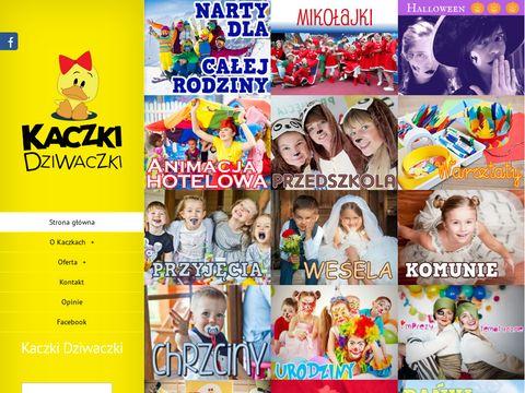 Kaczki-dziwaczki.pl animator okolicznościowy
